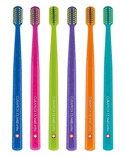 Ортодонтична зубна щітка CS Ultra Soft ORTHO з заглибленням