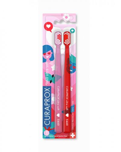 Набір ультрам'яких зубних щіток CURAPROX Love Edition 2021
