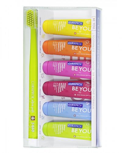 'Be you' Набір з шести смаків та ультра-м'яка зубна щітка.